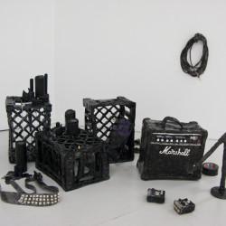 Rose Eken Master of Reality, installation, glazed ceramics