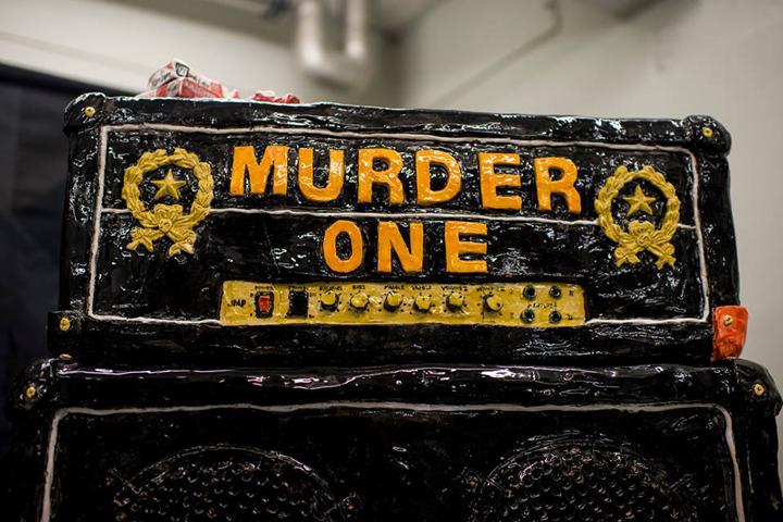 Rose Eken Murder One, sculpture