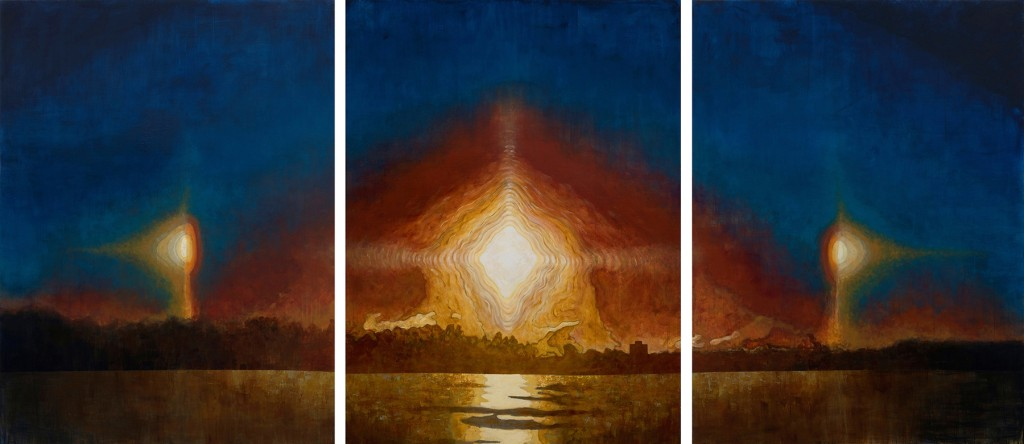 Frank Webster Sun Dog Triptych