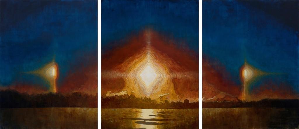 Frank Webster Sun Dog Triptych