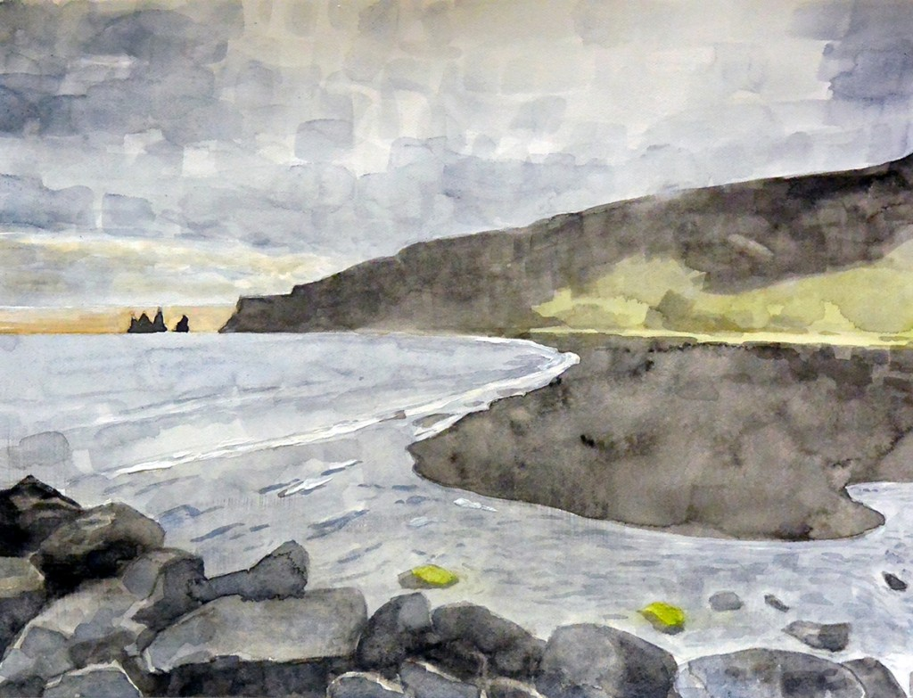 Frank Webster - Tidal Stream watercolor on paper