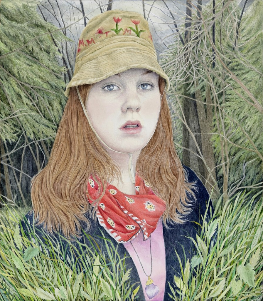 Rebecca Morgan Self Portrait Wearing Hat