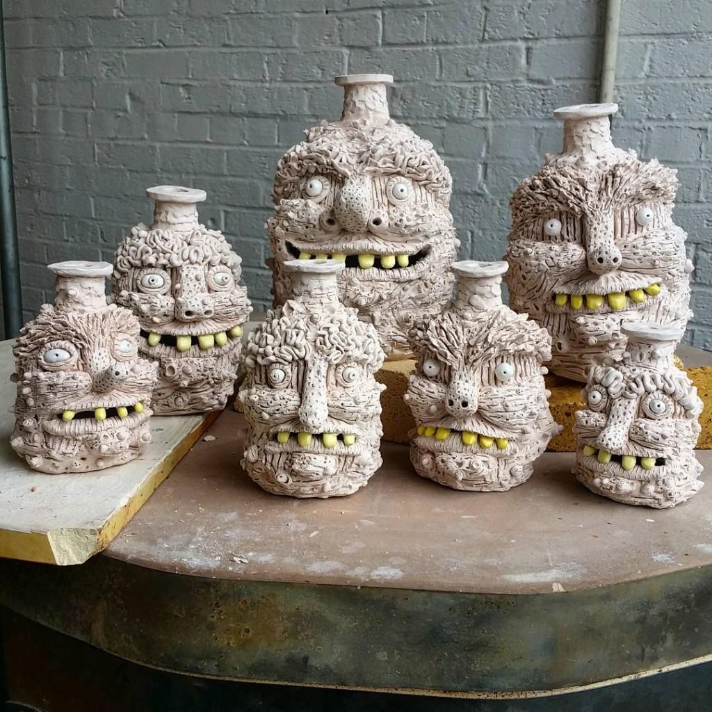 Rebecca Morgan Ceramic Jugs
