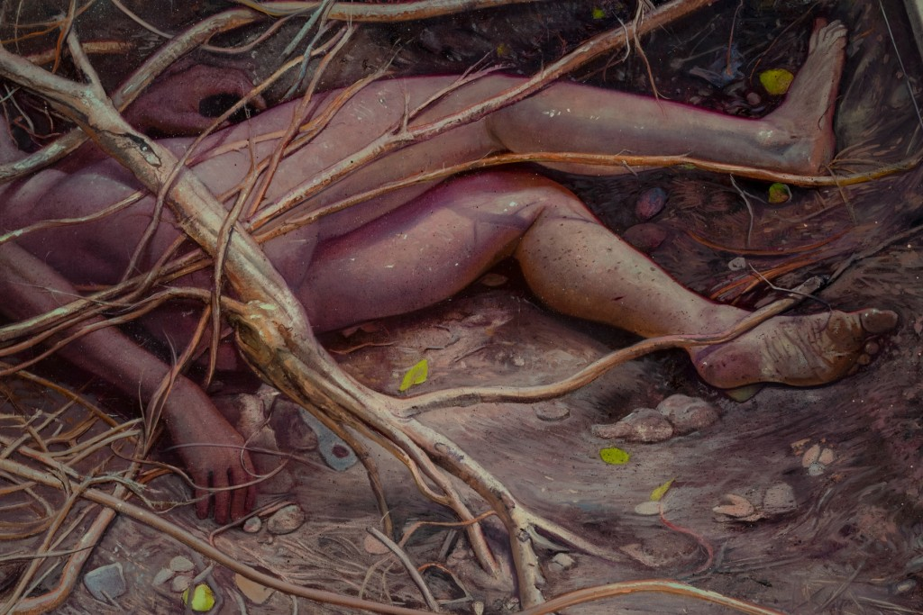 Melanie Vote, Excavation of Life and Death (Detail)