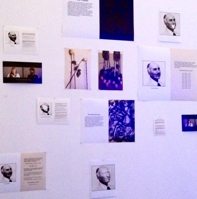 In Jennifer Lawint's studio.