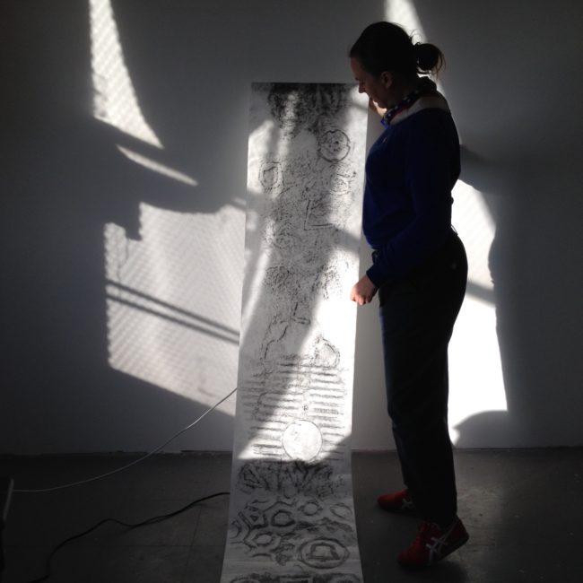 In Cecilia Engberg's studio.